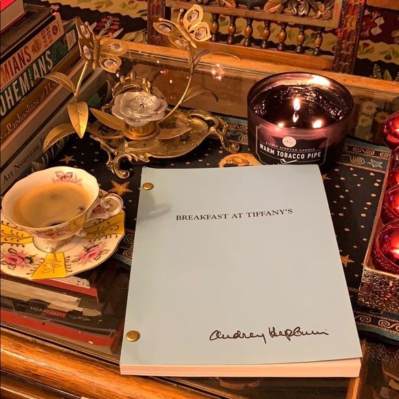 Breakfast at Tiffany's script